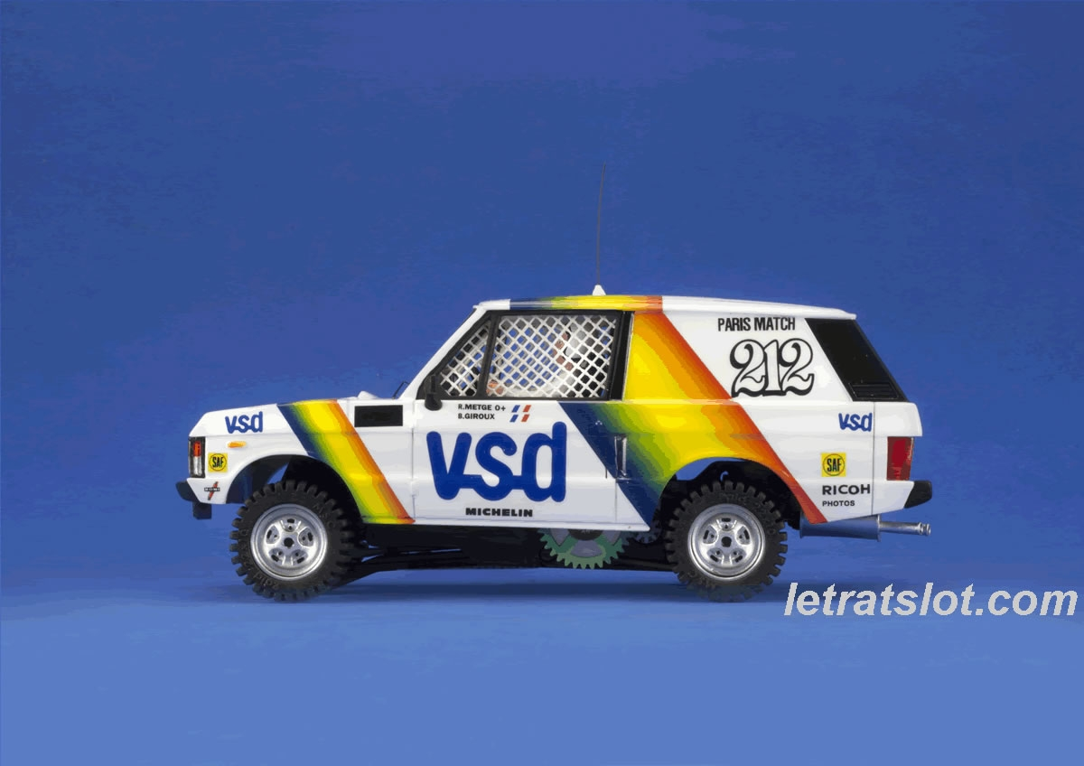 MSC Competition Range Rover VSD 1981