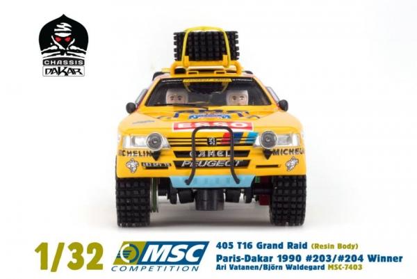 MSC - Peugeot 405 T16 Grand Raid