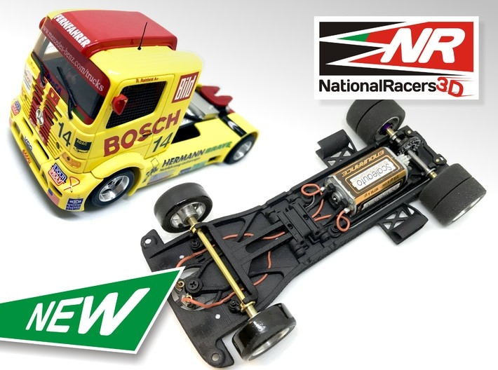 """National Racers 3d: Châssis 3D """"All-In-One"""""""
