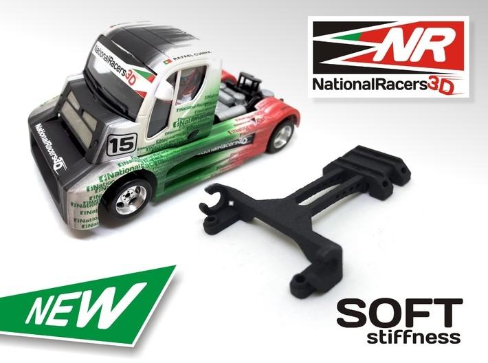National Racers 3d: un support pour régler les axes avant des camions Fly