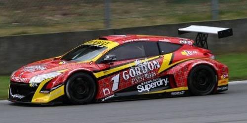 Ninco ref 55075 Renault Megane Trophy 09  Gordon