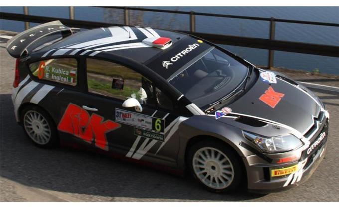 CITROEN C4 WRC KUBICA 50658