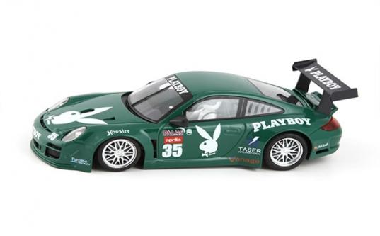 Porsche 997 GT Daytona Playboy NSR 1143 Verte