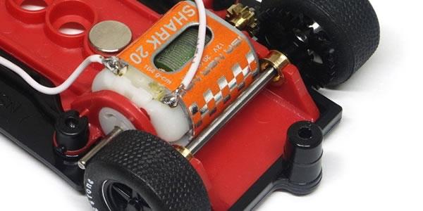 NSR1112 Porsche 917 numero 22 support moteur