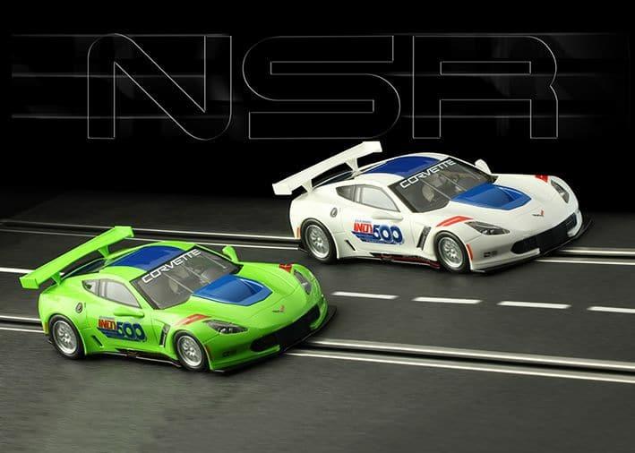 NSR Slot: Corvette C7R 101 Running Indianapolis 500 - 2017