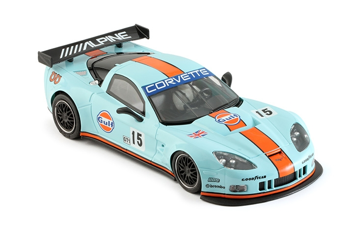 0044AW - Corvette C6R Gulf Edition #15 - AW KING 21