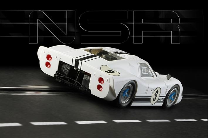 NSR Slot: la Ford MKIV #9 - Goodwood Revival