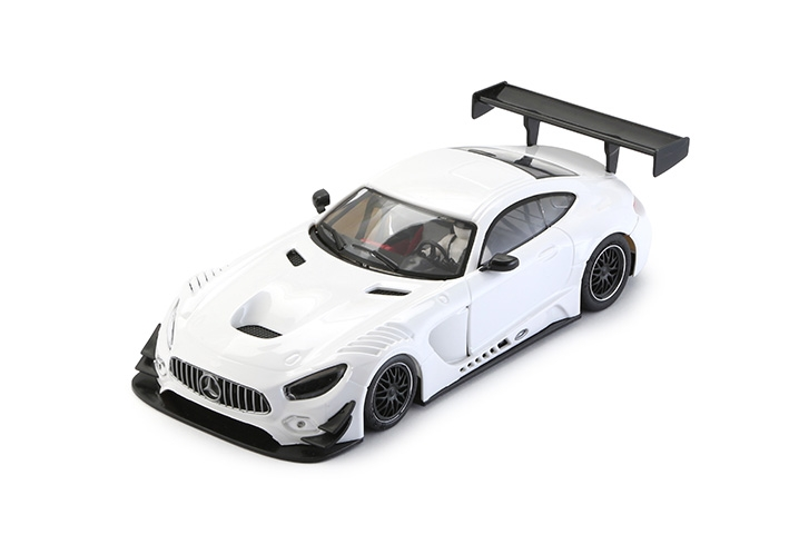 Mercedes AMG GT3 - 0092 Test Car White