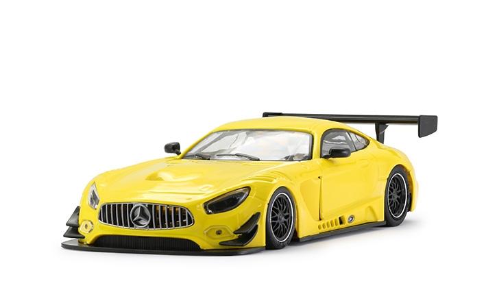 Mercedes AMG GT3 - 0093 Test Car Yellow.