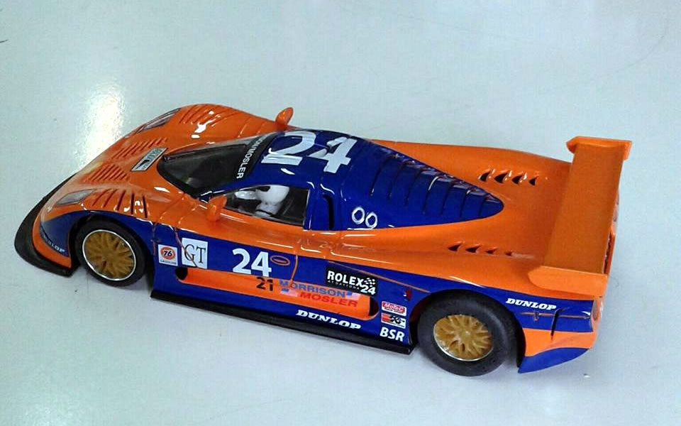 NSR Slot: La Mosler MT900R, Nr.24, Daytona 2002