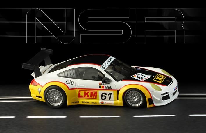NSR Slot: la Porsche 997 LKM Silverstone 2009 #61
