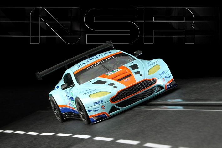 0048AW ASV GT3 Gulf Edition 24H Le Mans 2015 #95 AW King 21