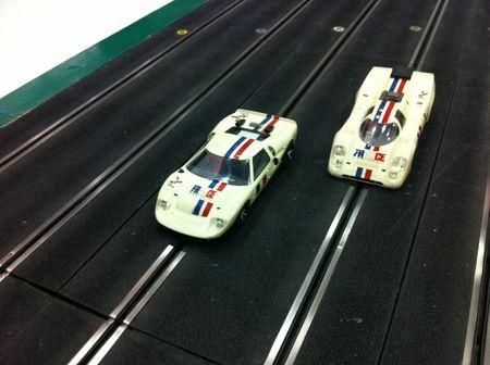 Ford GT40 & Porsche 917