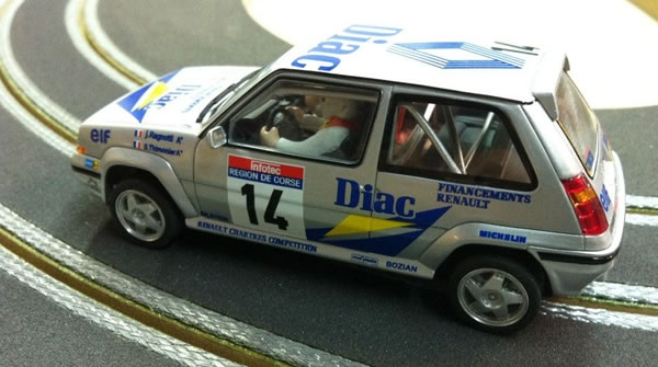 Renault 5 GT Turbo 1990 Octane Slot Rally Car