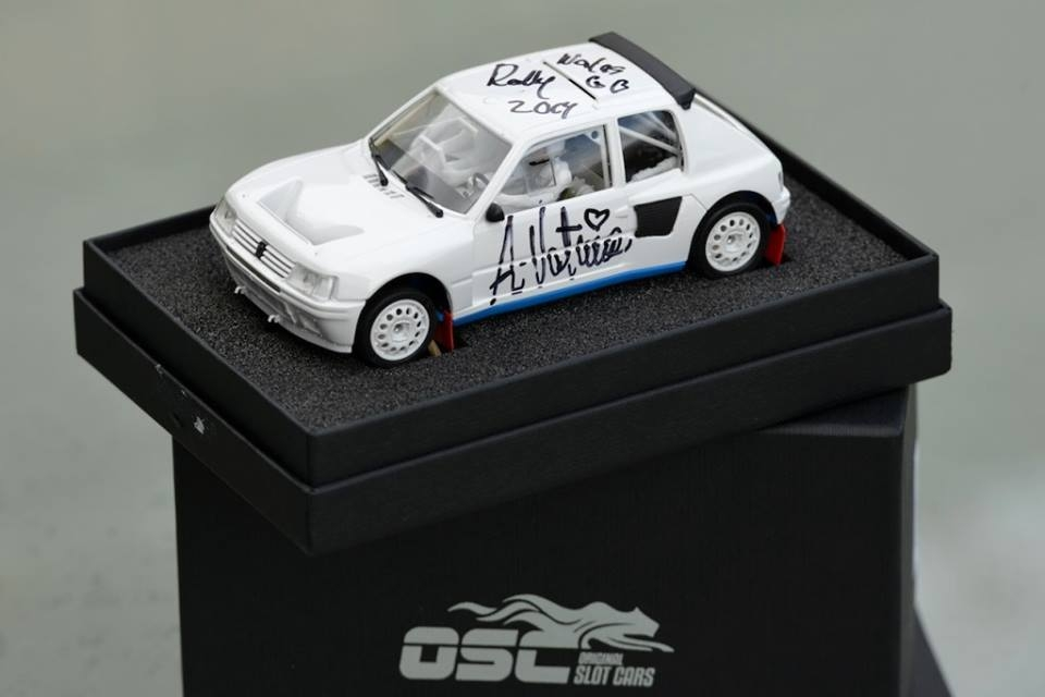 OSC: Une Peugeot 205 T16 aux enchères