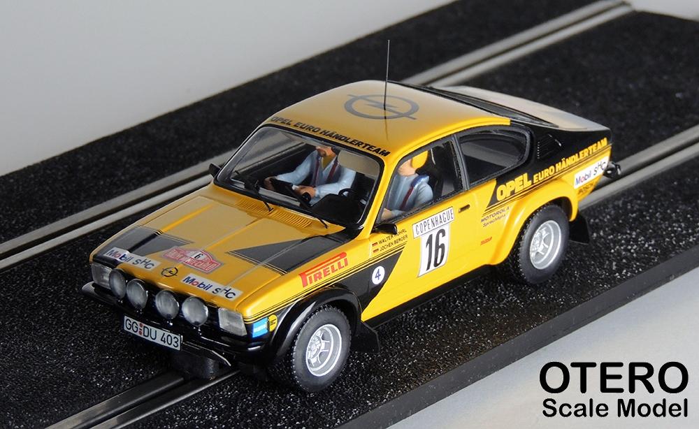 Otero Scale Model Opel Kadett C GT
