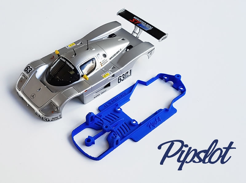 Pipchassis pour la Mercedes Sauber C9 Slot.it