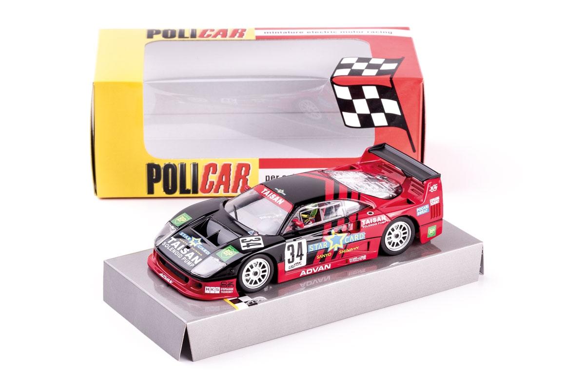 Policar: La Ferrari F40 - #34 - JGTC 1995 (PO-CAR03B)