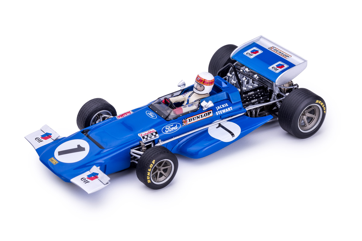 Policar: La March 701 # 1 Jackie Stewart - Jarama GP 1970 . CAR04b