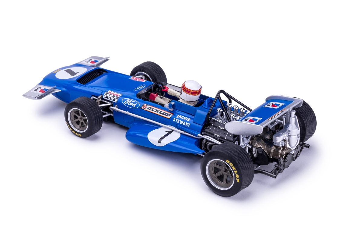 Policar: La March 701 # 1 Jackie Stewart - Jarama GP 1970 . CAR04b