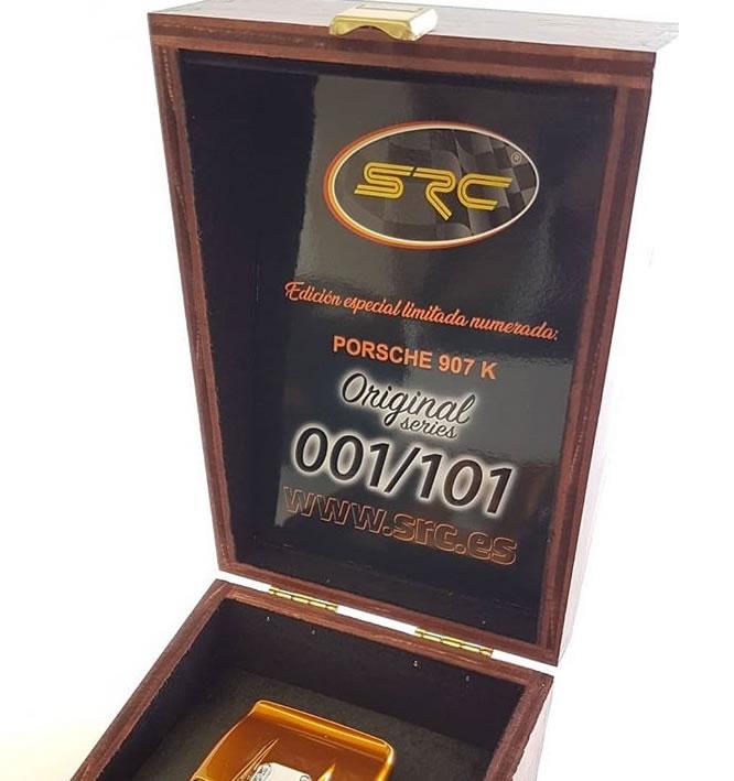 """SRC: Un coffret Collector Porsche 907K """"Original Séries"""""""
