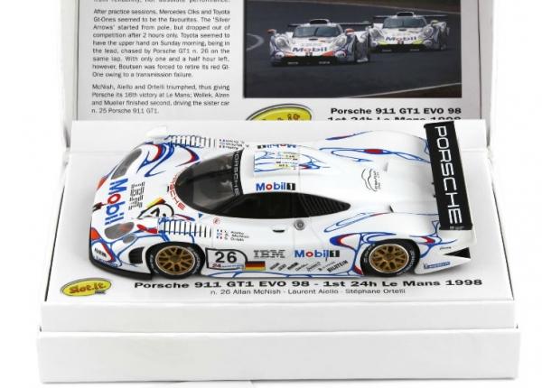 CW13 - Porsche 911 GT1 EVO 98 en édition limitée