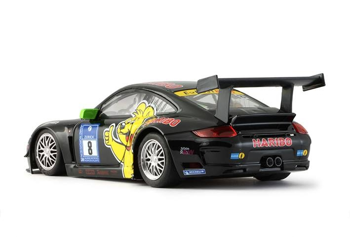 Porsche 997 black #8 24h Nurburgring 2011 HARIBO 0021AW