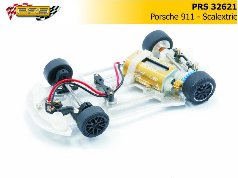 PRS32621 - Châssis Porsche 911 Scalextric RTR
