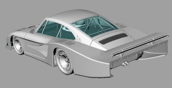 Porsche 935/78 Sideways groupe 5