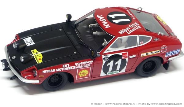 Racer - silver Line - Datsun 240Z
