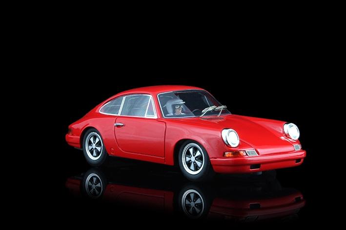 Racer Silverline Porsche 911S rouge
