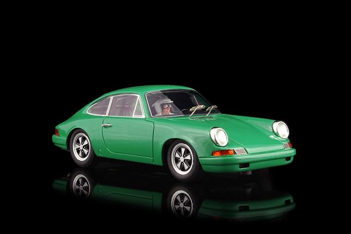 Racer Silverline Porsche 911S verte