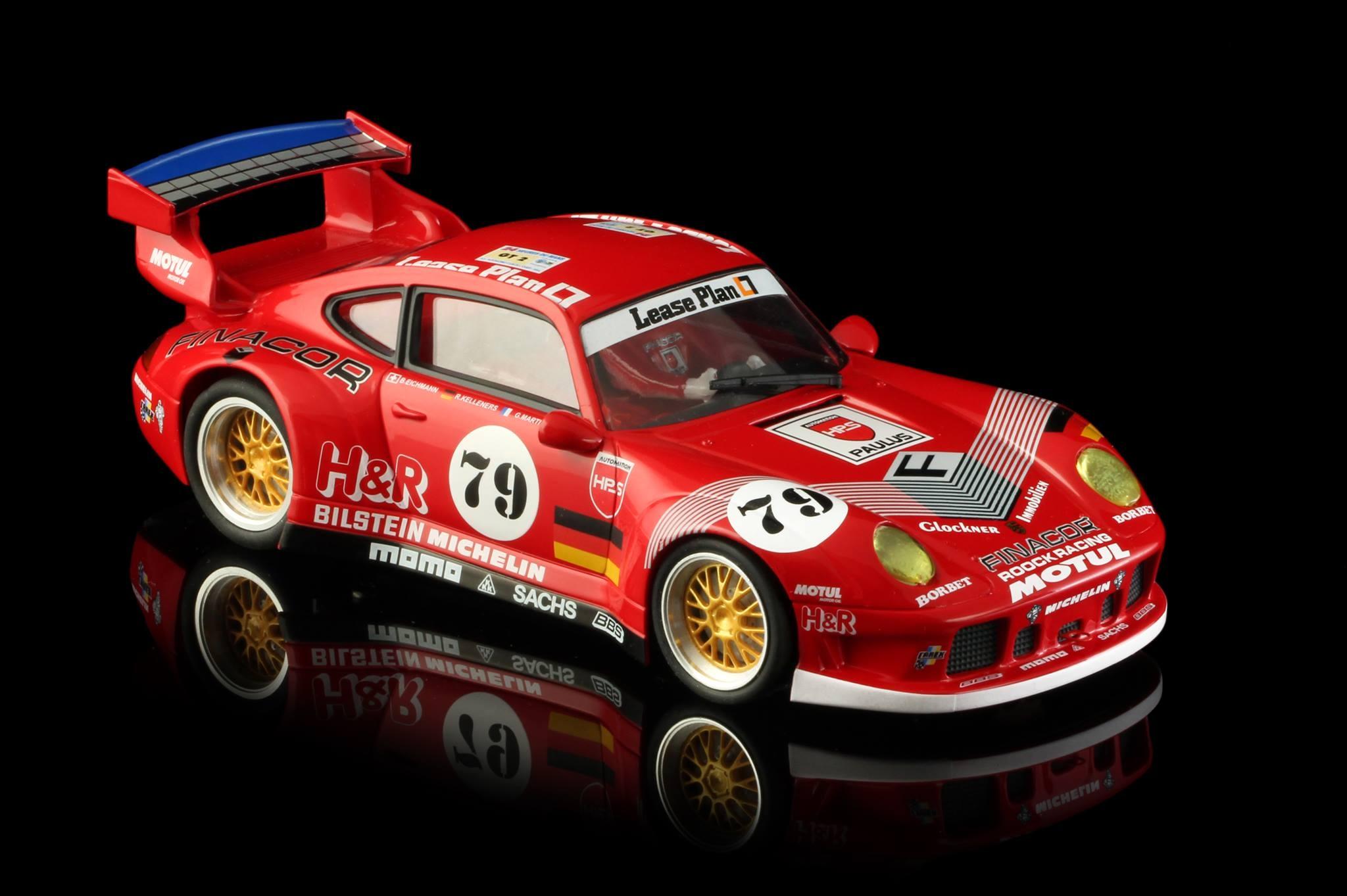 PORSCHE 911 GT2 MOTUL Team Roock Racing #79 Le Mans 1996