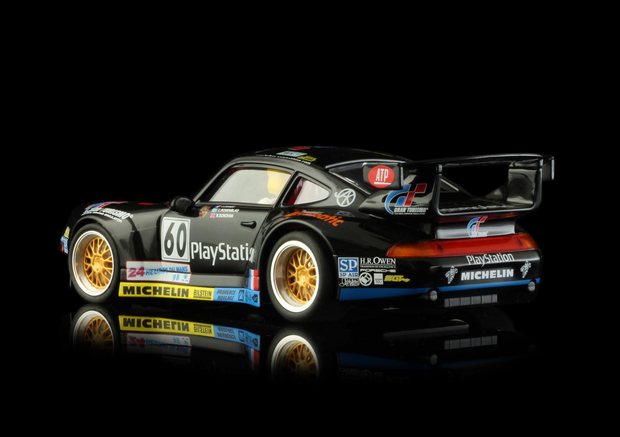 PORSCHE – 911 GT2 PLAYSTATION Team Labre Competition #60 Le Mans 1998