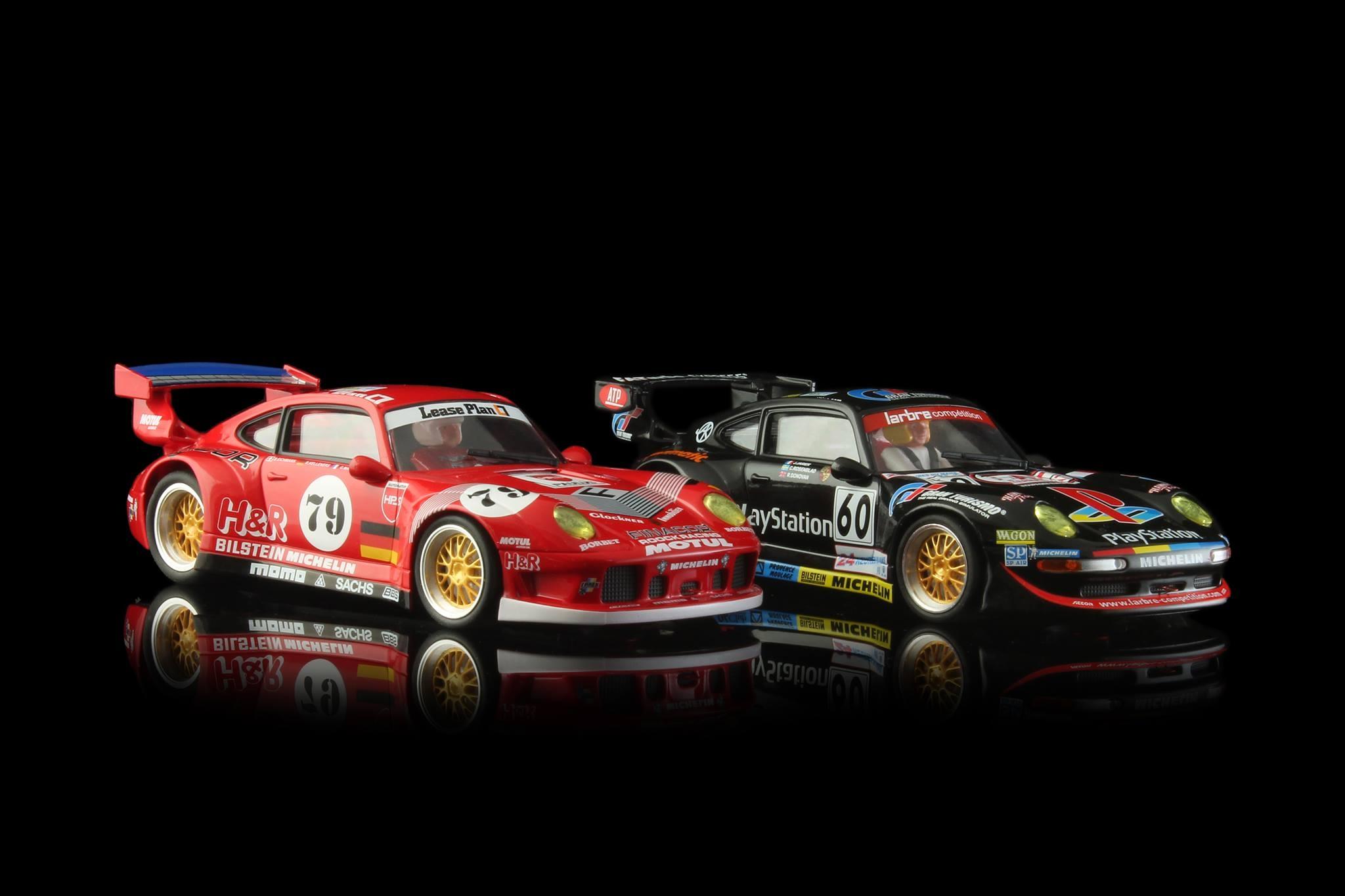 REVOSLOT: LES PORSCHE 911 GT2 - 24 H LE MANS 1996 ET 1998