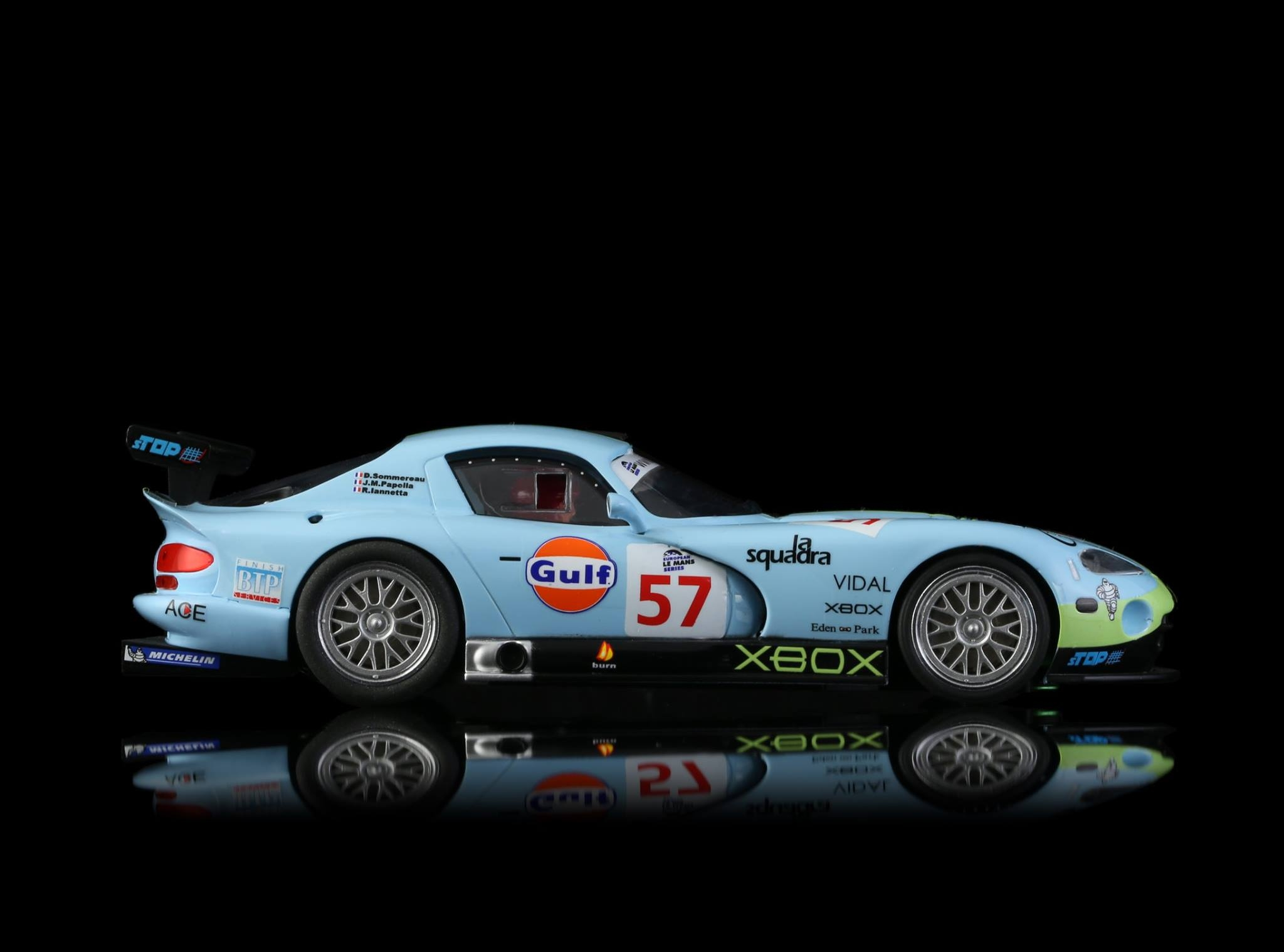 Viper GTS - Paul Belmondo Racing - Gulf #57