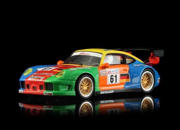 Porsche 911 GT2 Le Mans en 1998 Krauss n °61