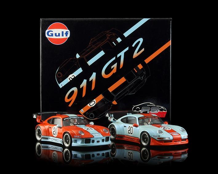 Porsche 911 GT2 Special Gulf Edition