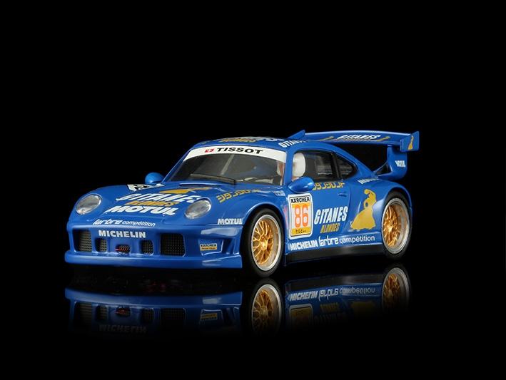 Porsche 911 GT2 1995 Gitanes Blondes n °86