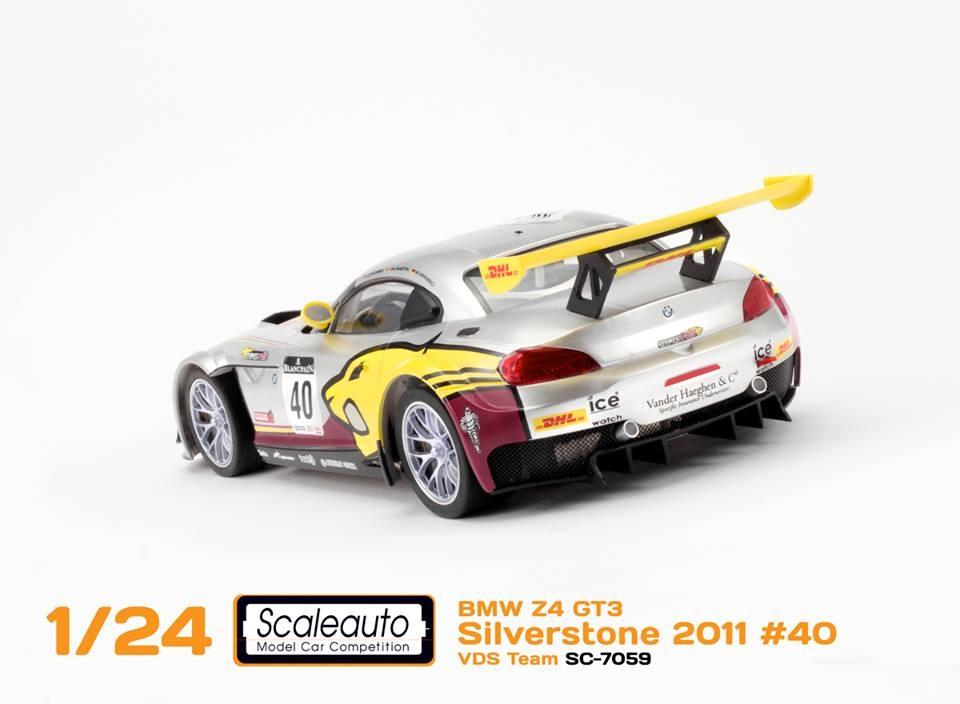 Scaleauto la BMW Z4 GT3 Blancpain Série 2011 (SC-7059)
