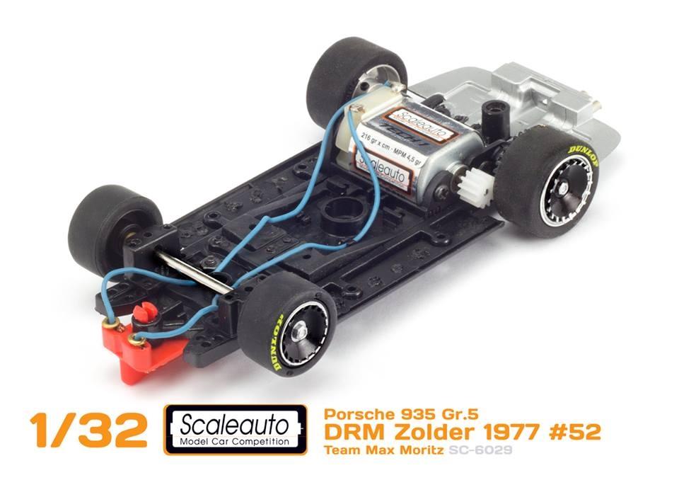 Scaleauto la Porche 935 DRM Zolder chassis