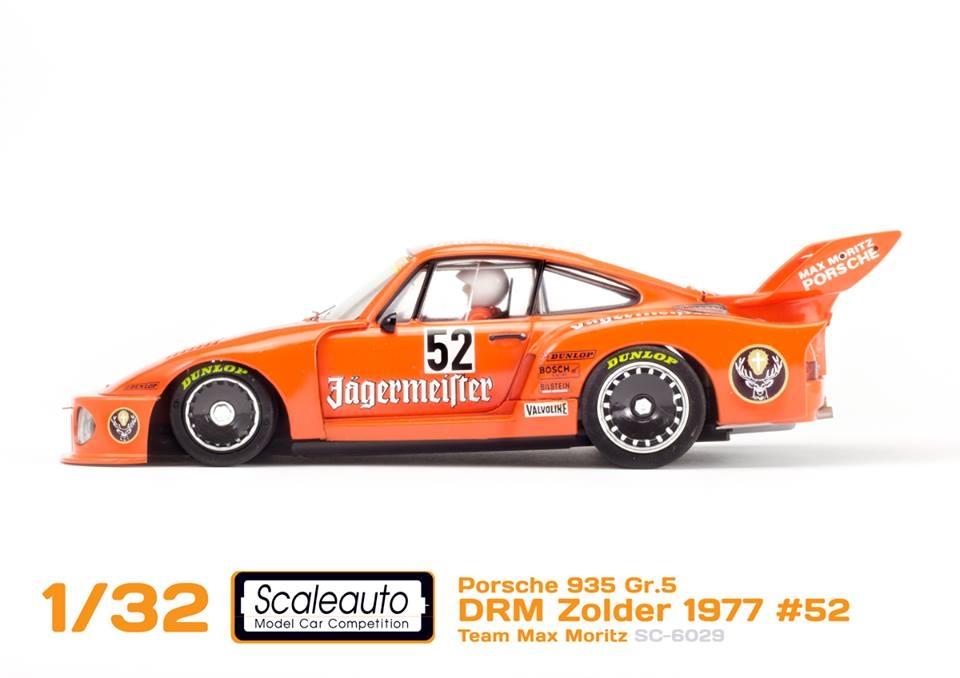 Scaleauto la Porche 935 DRM Zolder