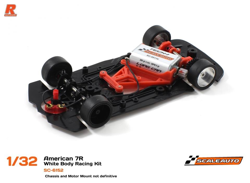 Scaleauto: le Chassis R-2017 Double In-Flex