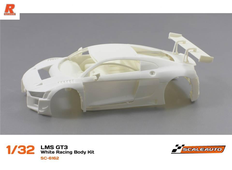 Scaleauto: Le kit de l'Audi R8 LMS GT3 à l'échelle 1/32 - SC-6162