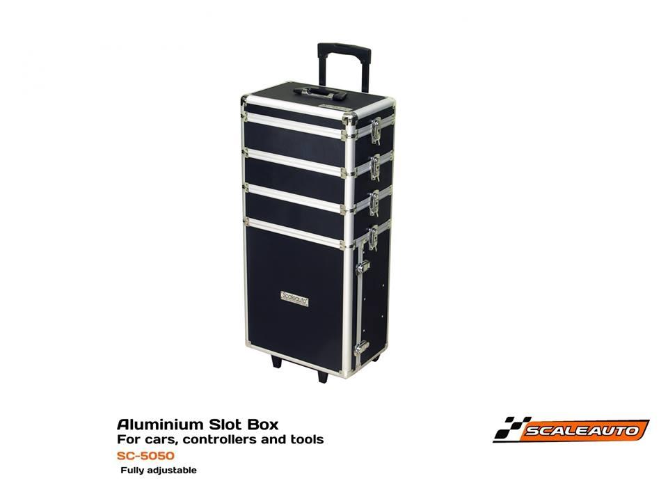 Scaleauto: les boites à slot en aluminium 1/24 & 1/32