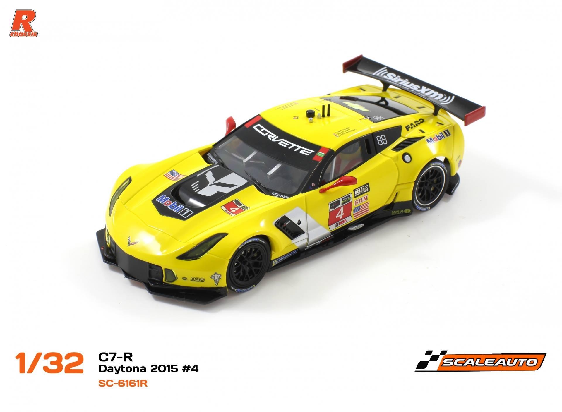 Scaleauto Corvette C7r Gt3 des 24 h. Daytona 2015 #4