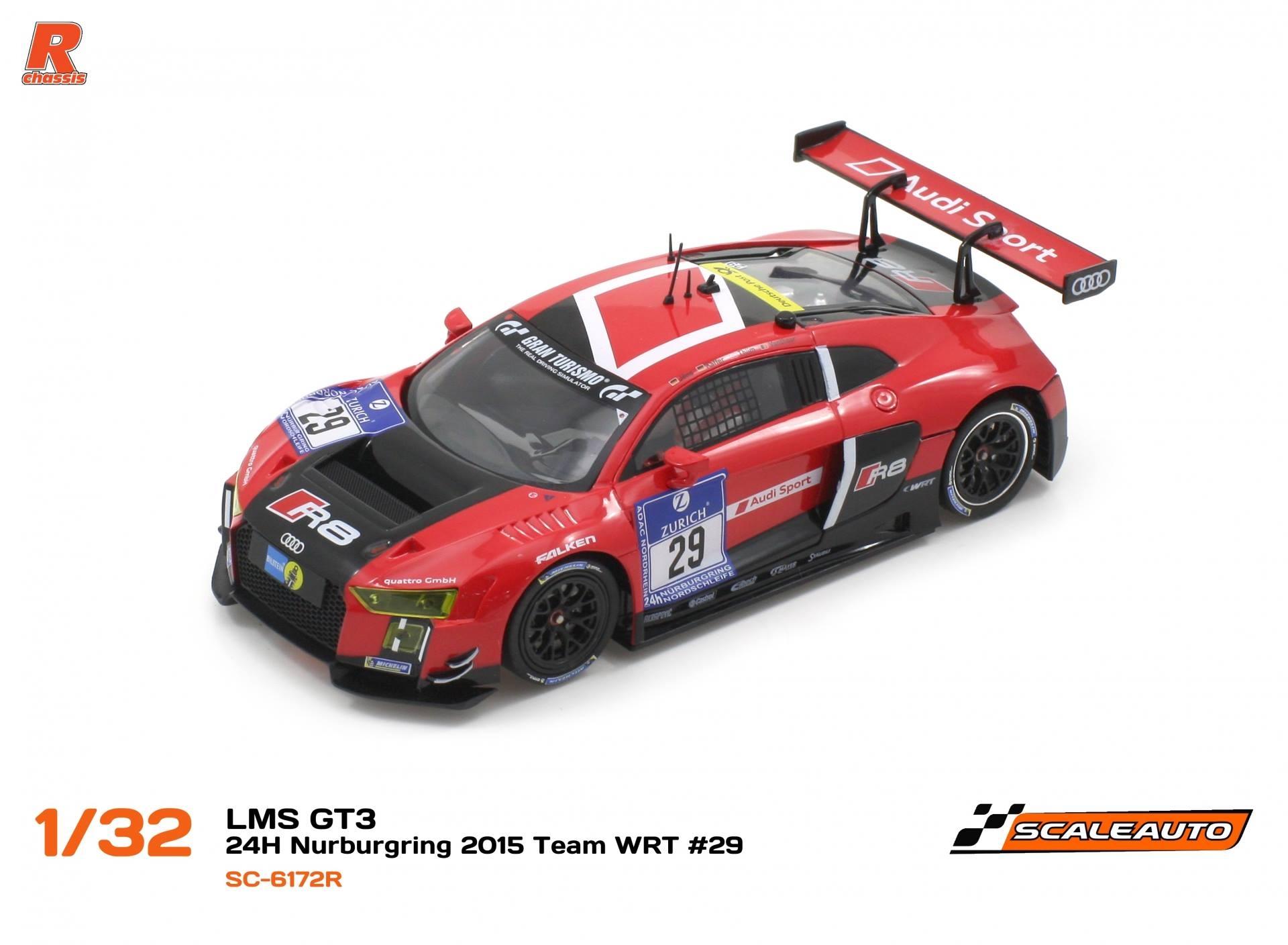 Scaleauto: Audi R8 LMS GT3 #29 TEAM WRT 24h. Nürburgring 2015- SC6172