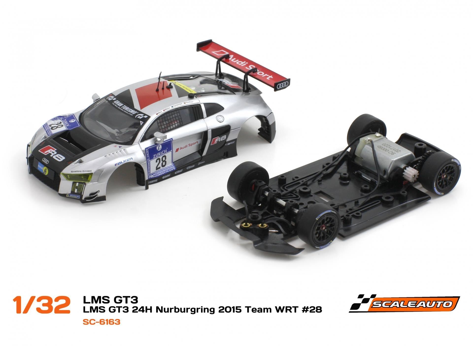 Scaleauto: Audi R8 LMS GT3 #28 TEAM WRT 24h. Nürburgring 2015- SC6163