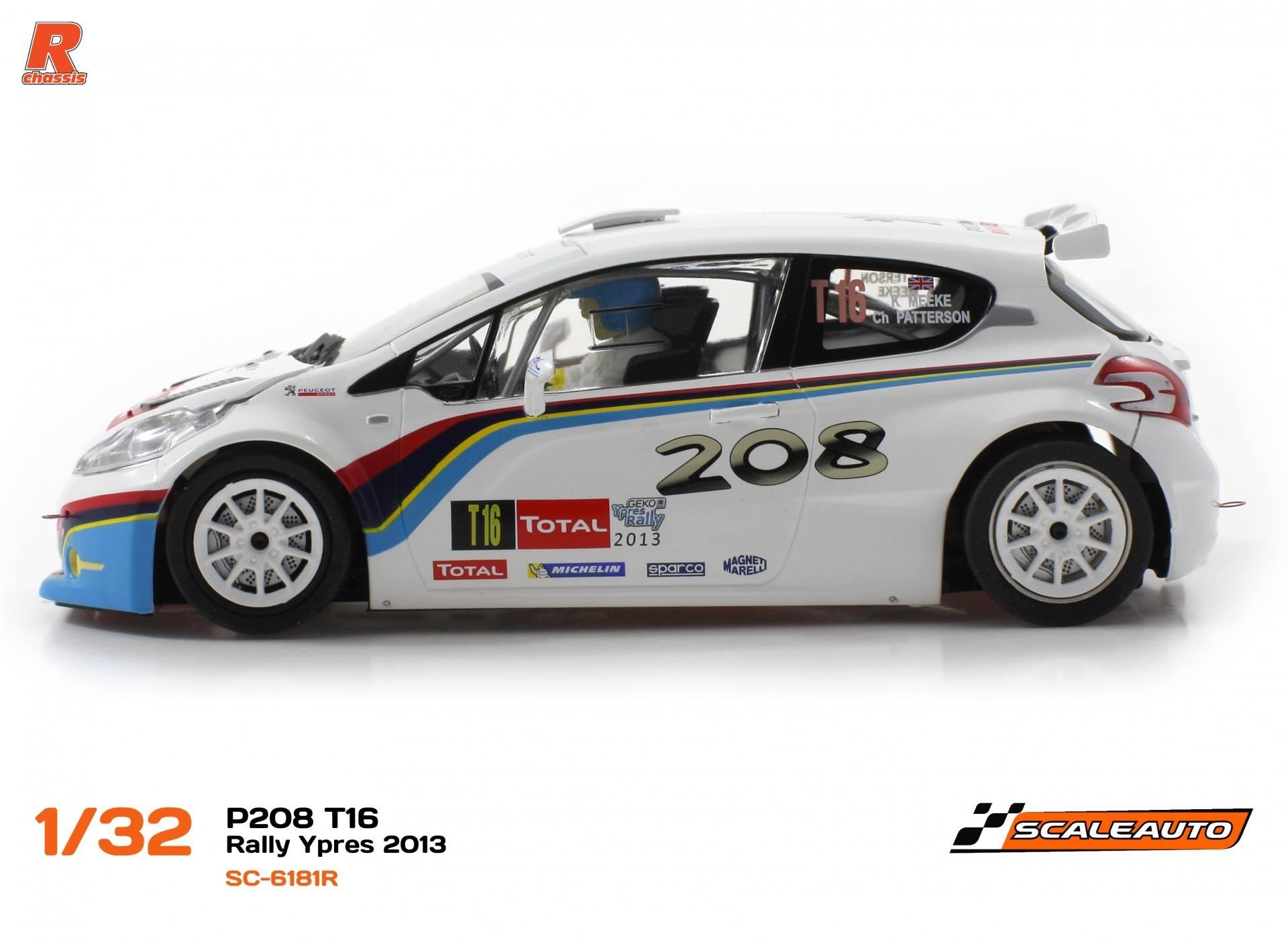 Scaleauto: les photos de la Peugeot 208 T16 Ypres 2013