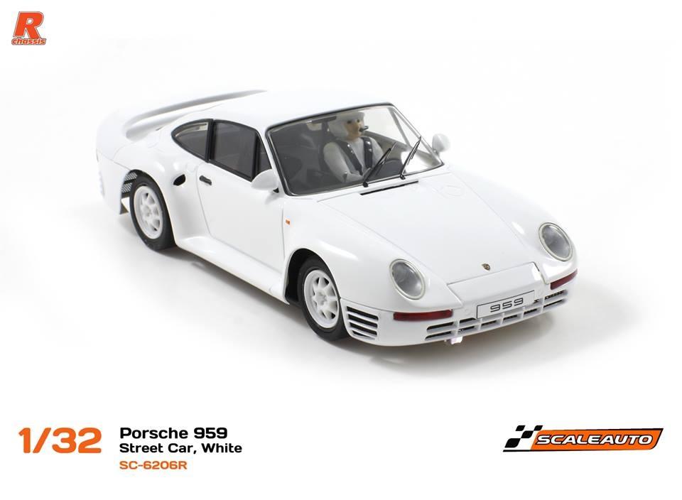 Scaleauto: Les Porsche 959 et la Ford RS200 gr. B Purolator Cto (ex. MSC)